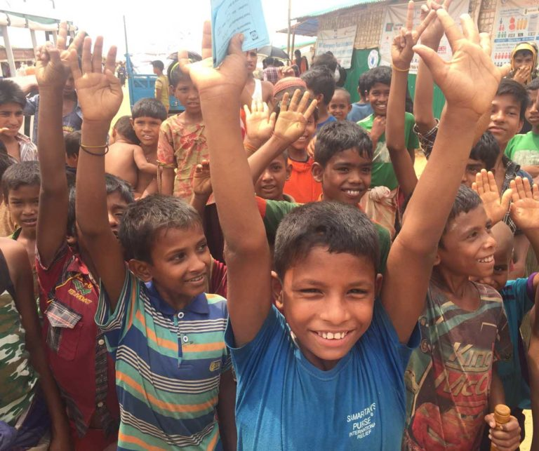 Read more about the article Support for the Rohingya Refugees